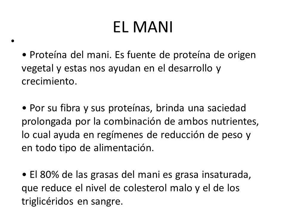 EL MANI