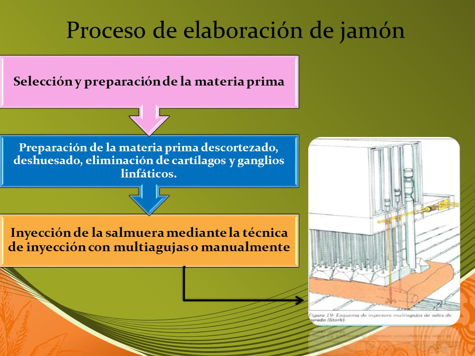 Selección y preparación de la materia prima