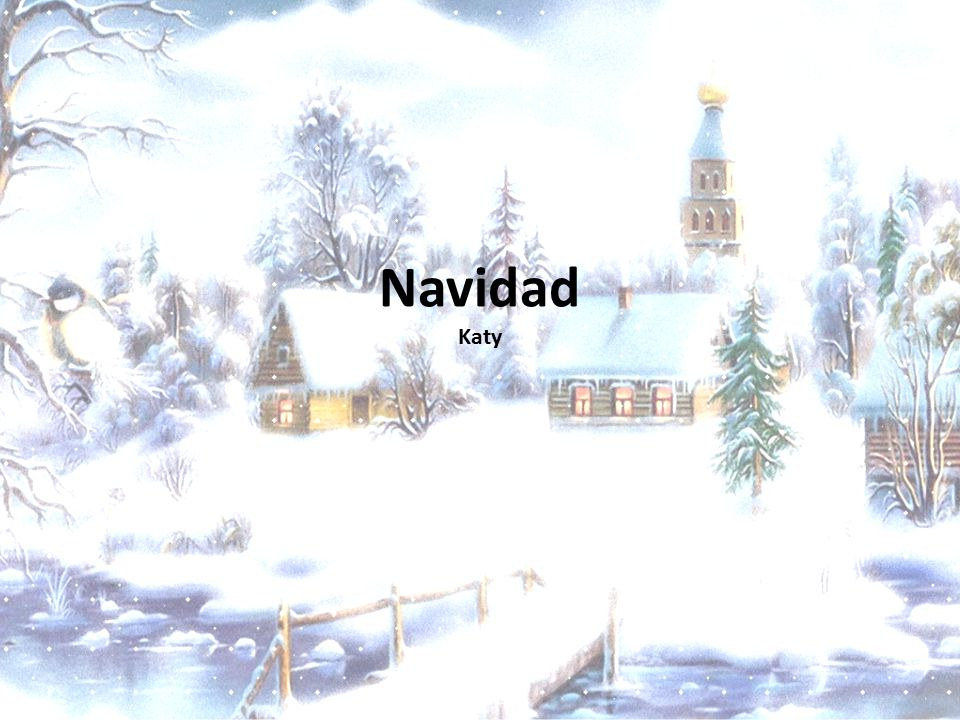 Navidad Katy