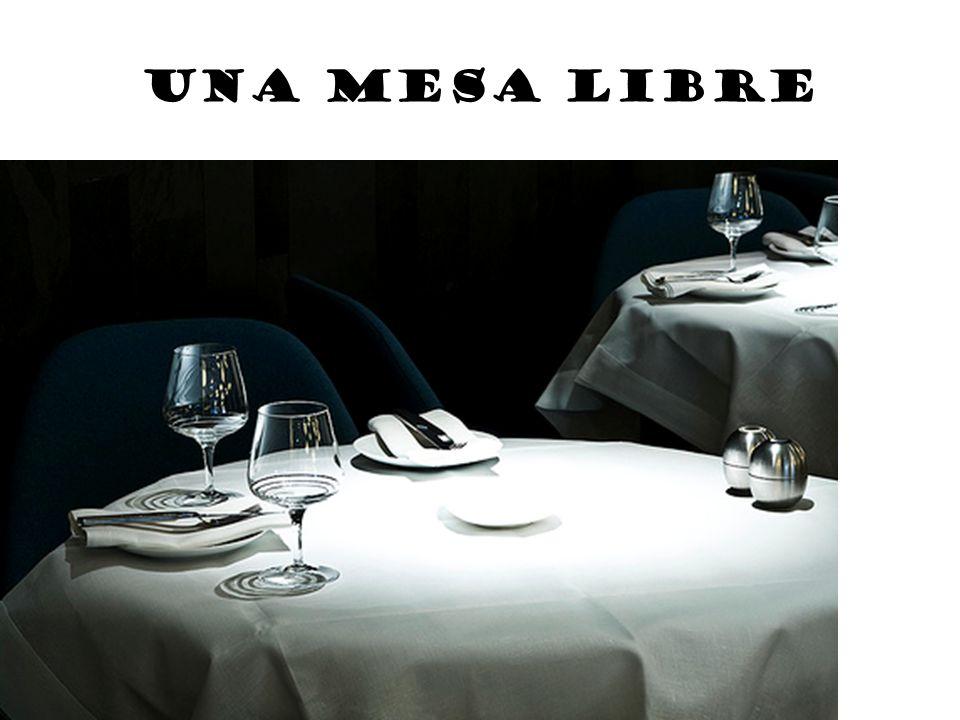 Una mesa libre