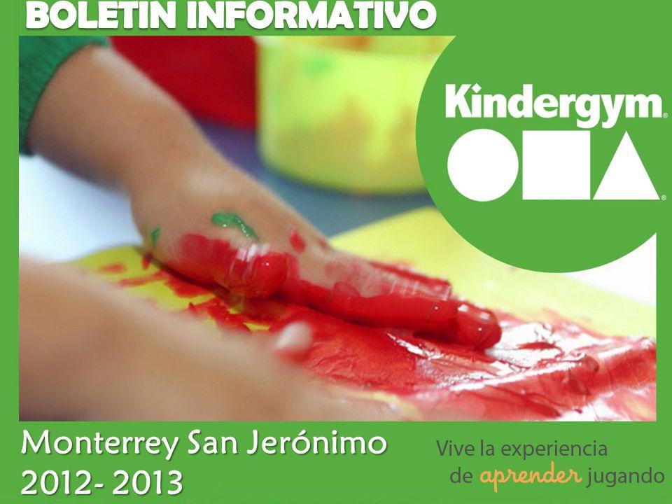 BOLETIN INFORMATIVO Monterrey San Jerónimo 2012- 2013