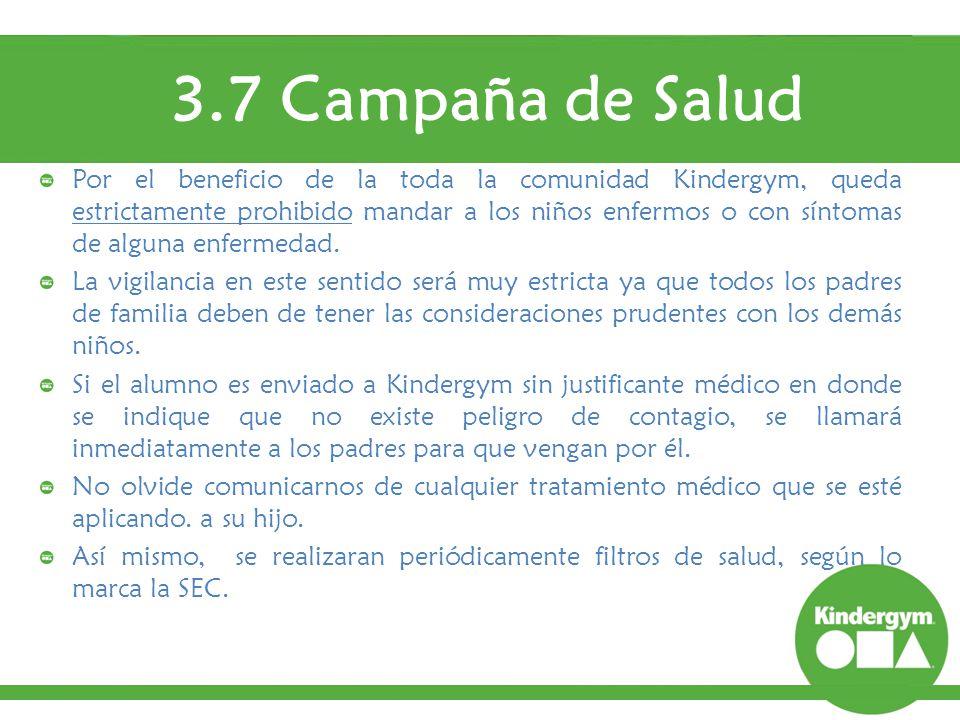 3.7 Campaña de Salud