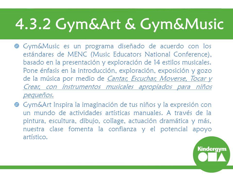 4.3.2 Gym&Art & Gym&Music