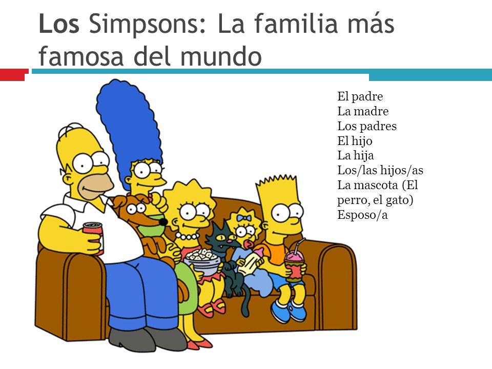 Los Simpsons: La familia más famosa del mundo