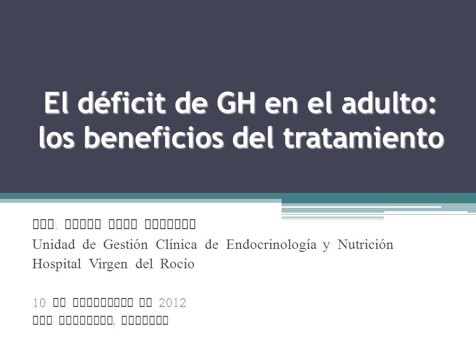 El déficit de GH en el adulto: los beneficios del tratamiento