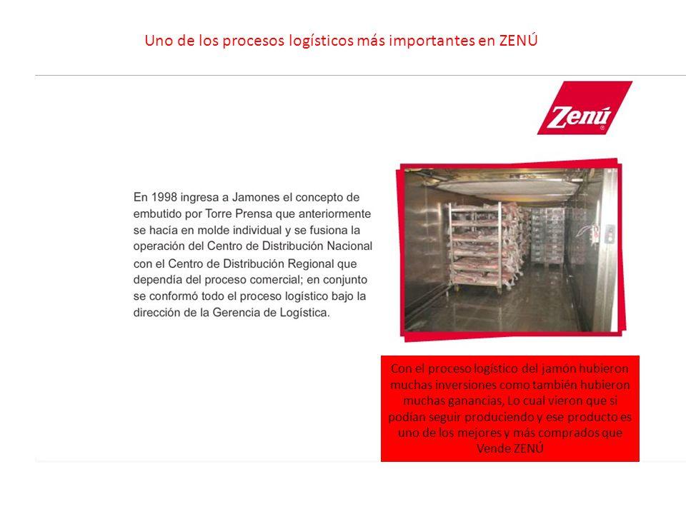 Uno de los procesos logísticos más importantes en ZENÚ