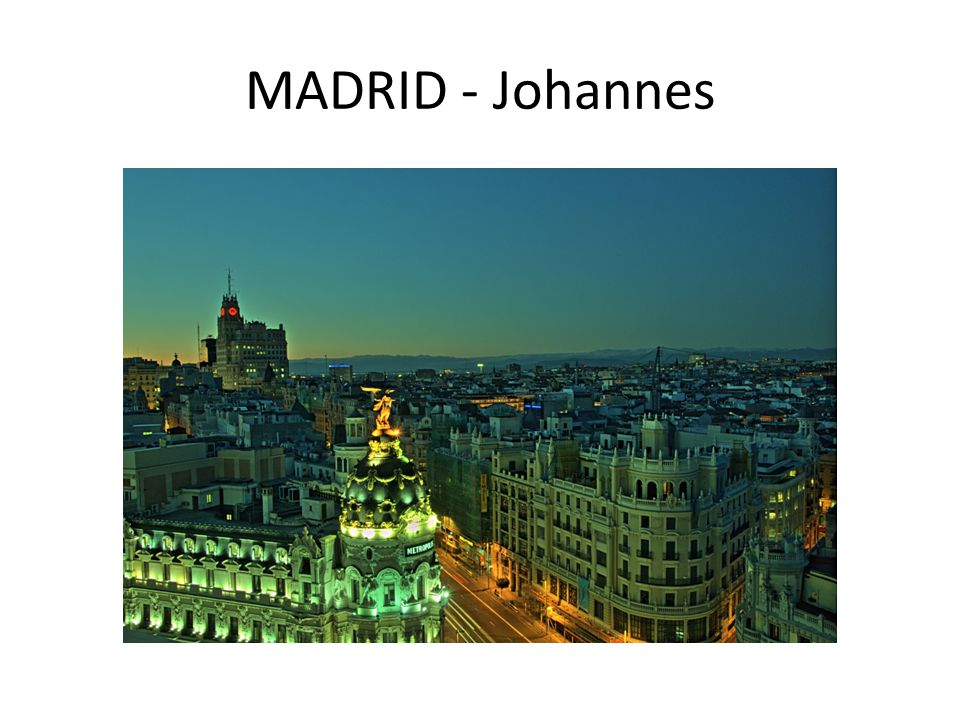 MADRID - Johannes