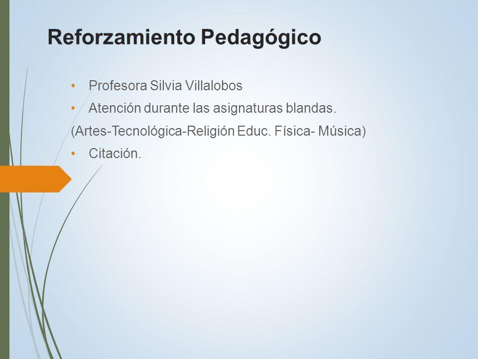 Reforzamiento Pedagógico