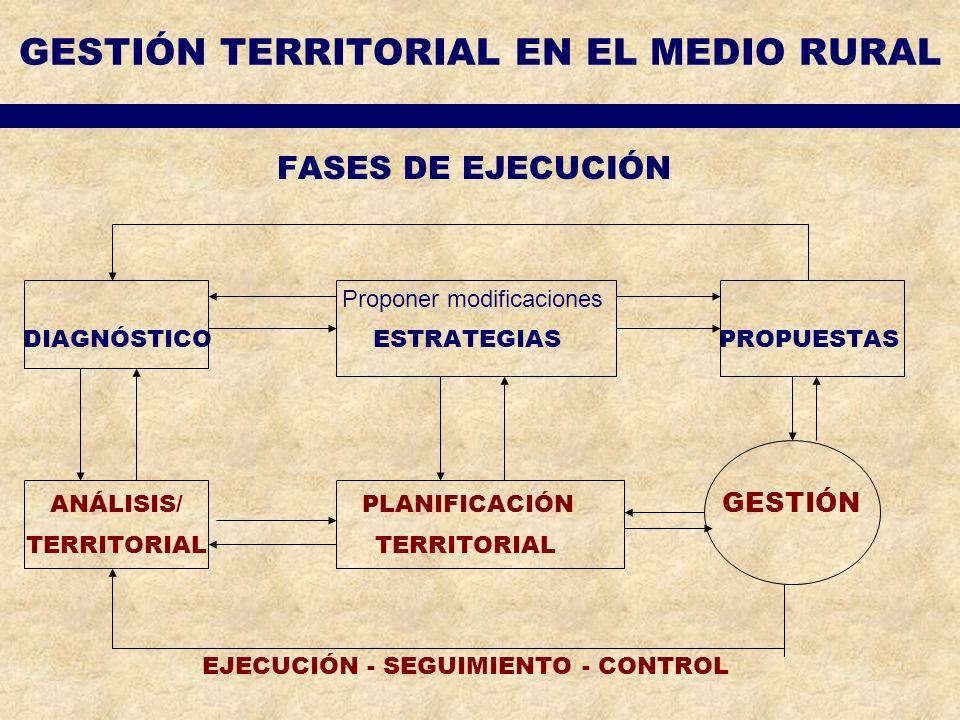 GESTIÓN TERRITORIAL EN EL MEDIO RURAL