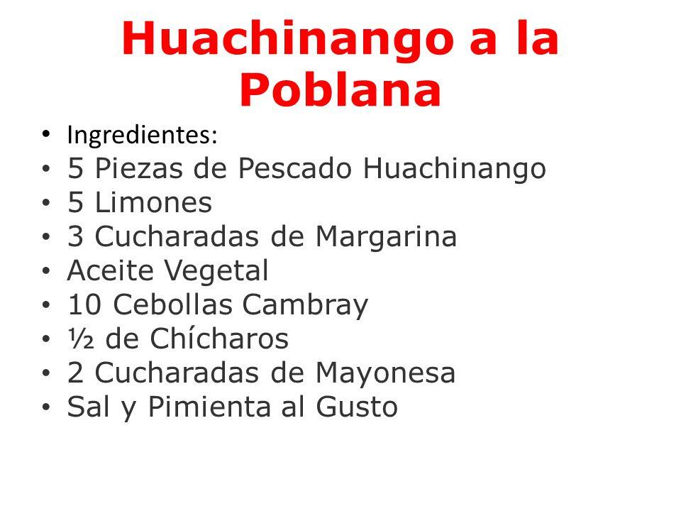 Huachinango a la Poblana