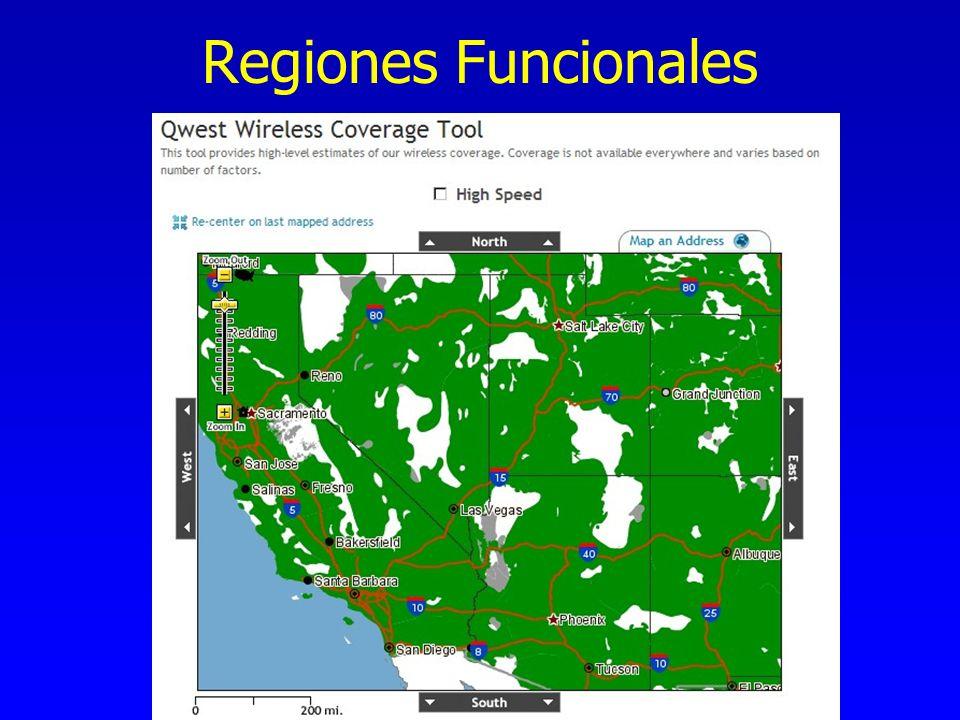 Regiones Funcionales