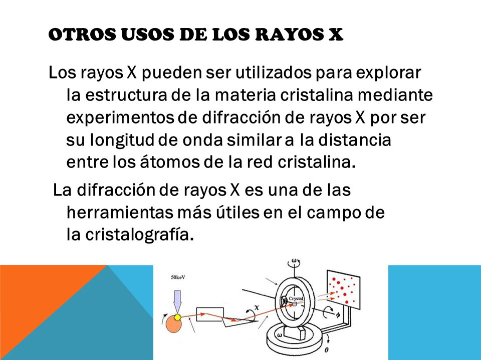 Otros Usos de los rayos X
