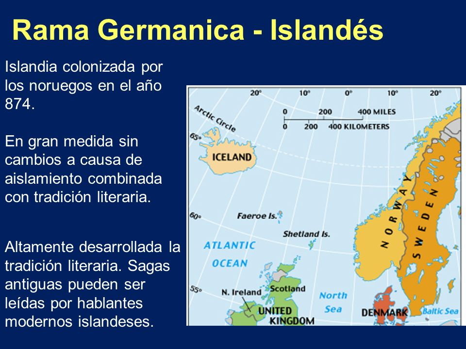 Rama Germanica - Islandés