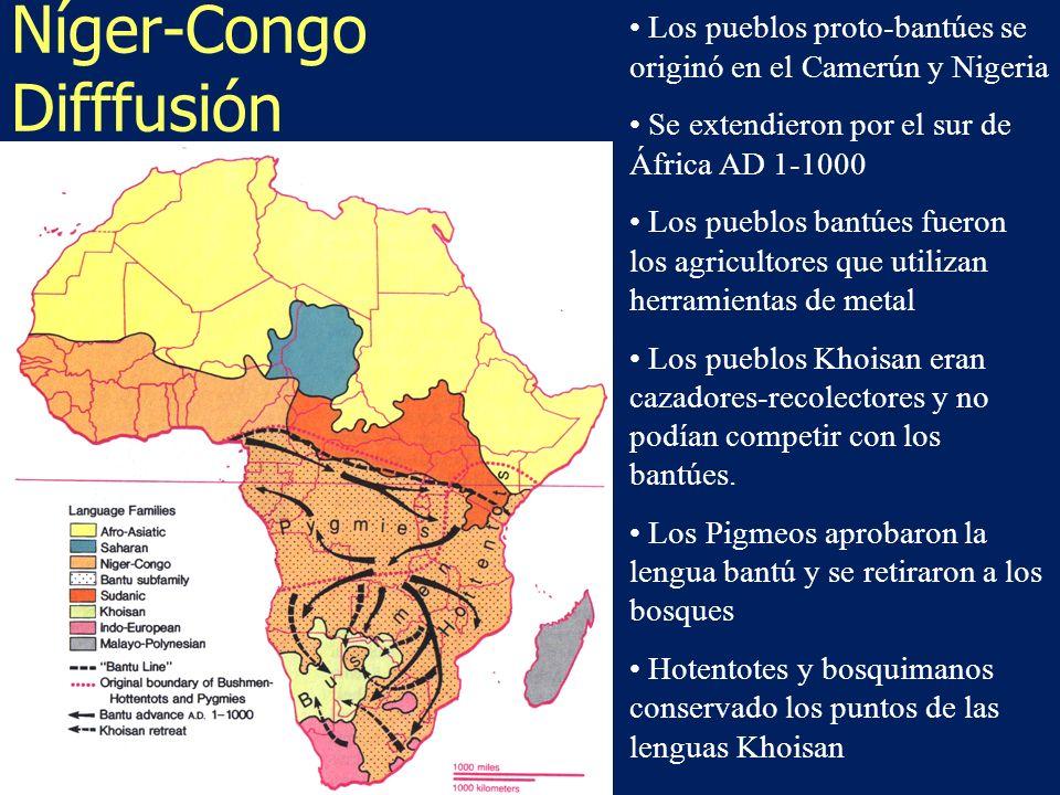 Níger-Congo Difffusión