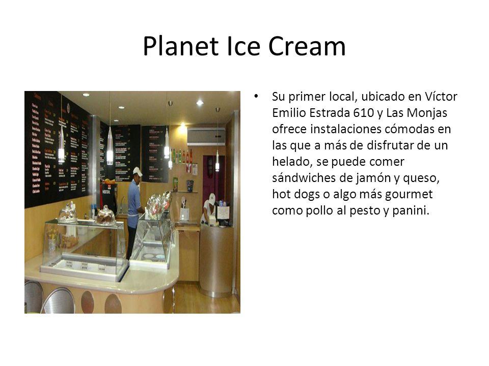 Planet Ice Cream