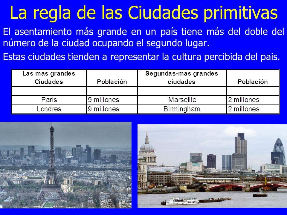 La regla de las Ciudades primitivas