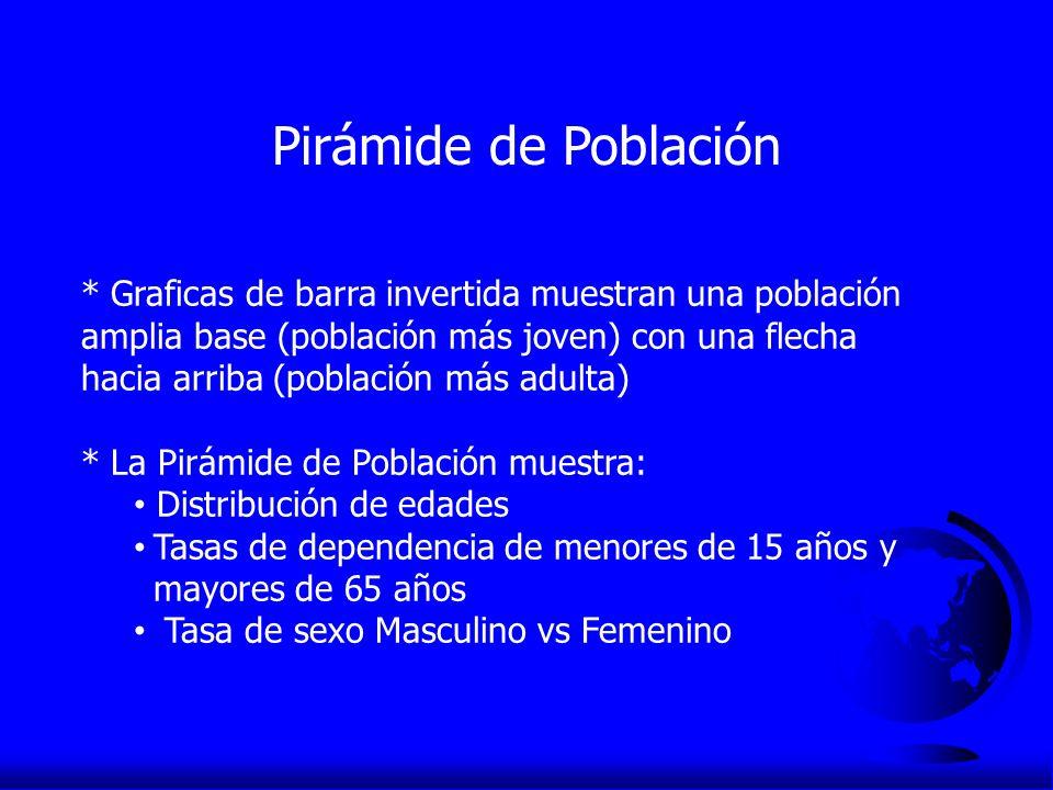 Pirámide de Población