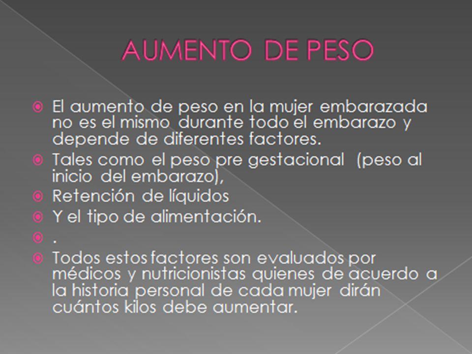 AUMENTO DE PESO