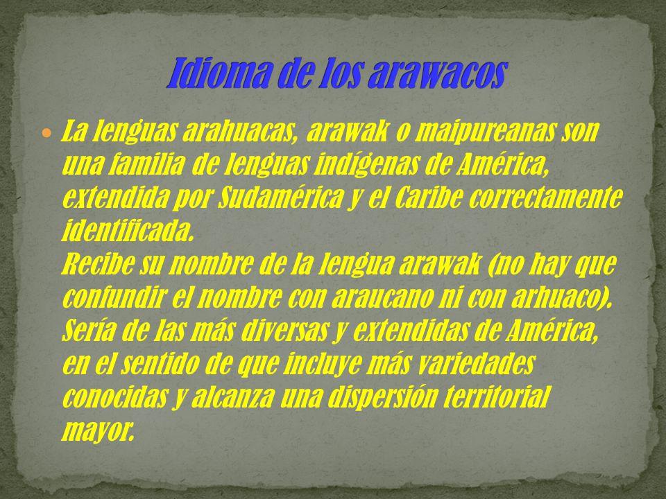 Idioma de los arawacos