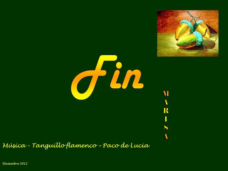 Fin M A R I S Música - Tanguillo flamenco – Paco de Lucia