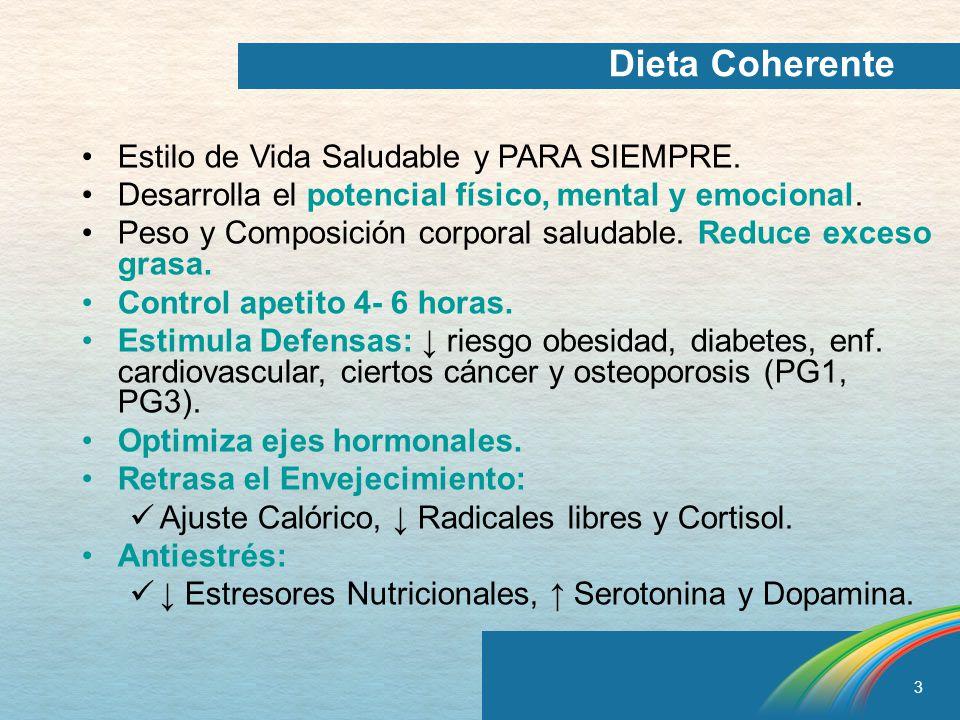 Dieta Coherente Estilo de Vida Saludable y PARA SIEMPRE.