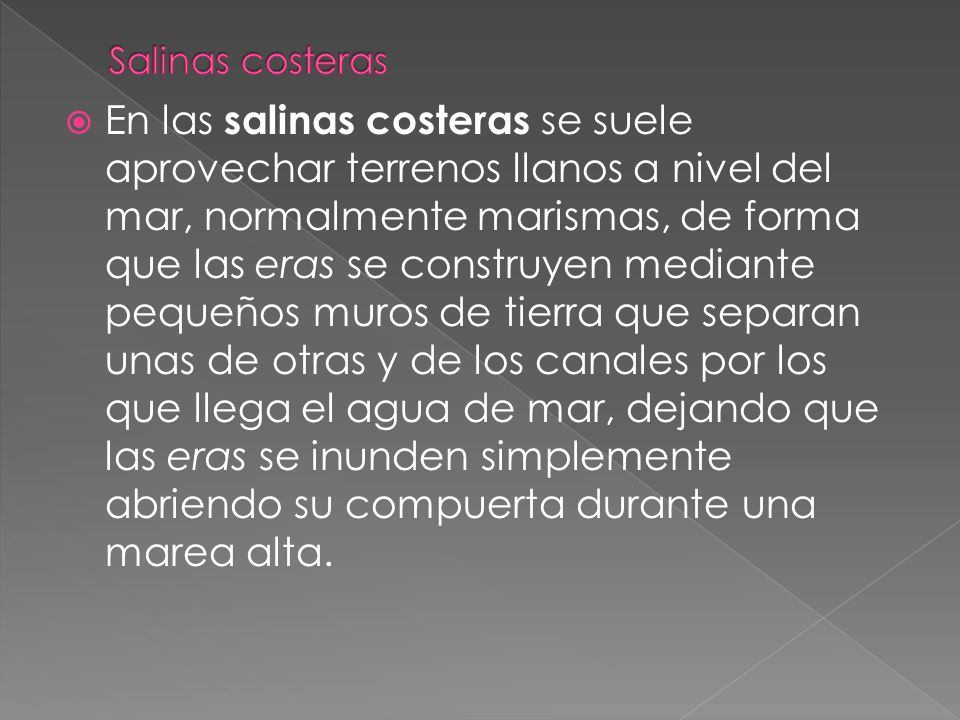 Salinas costeras