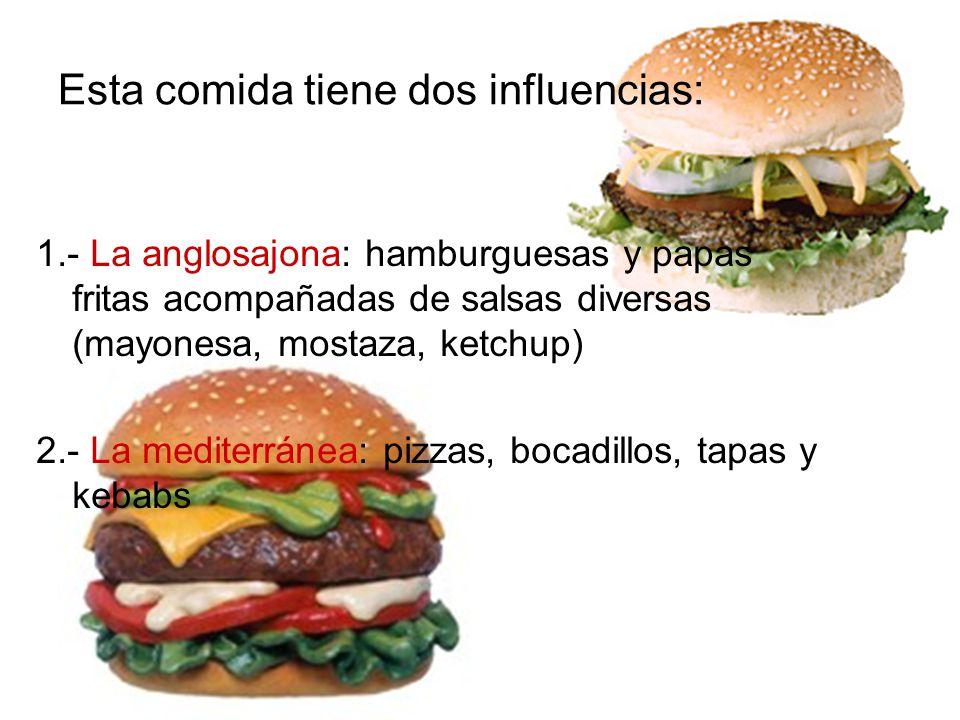 Esta comida tiene dos influencias: