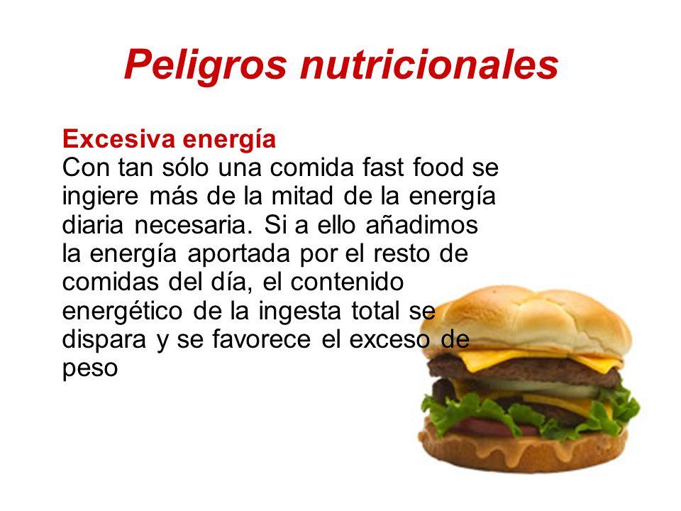 Peligros nutricionales