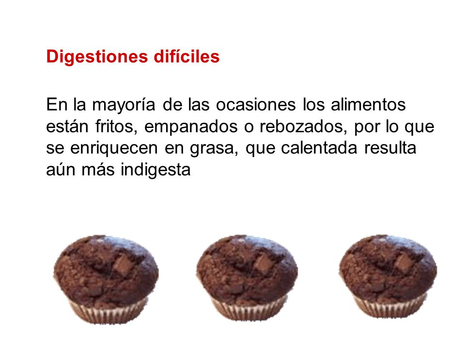 Digestiones difíciles
