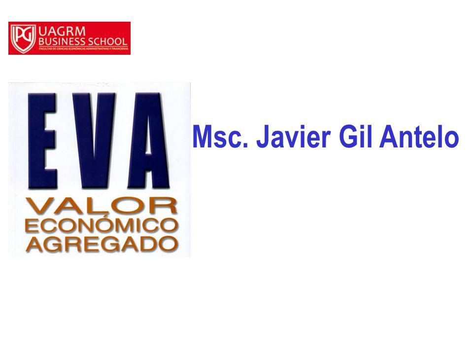 Msc. Javier Gil Antelo