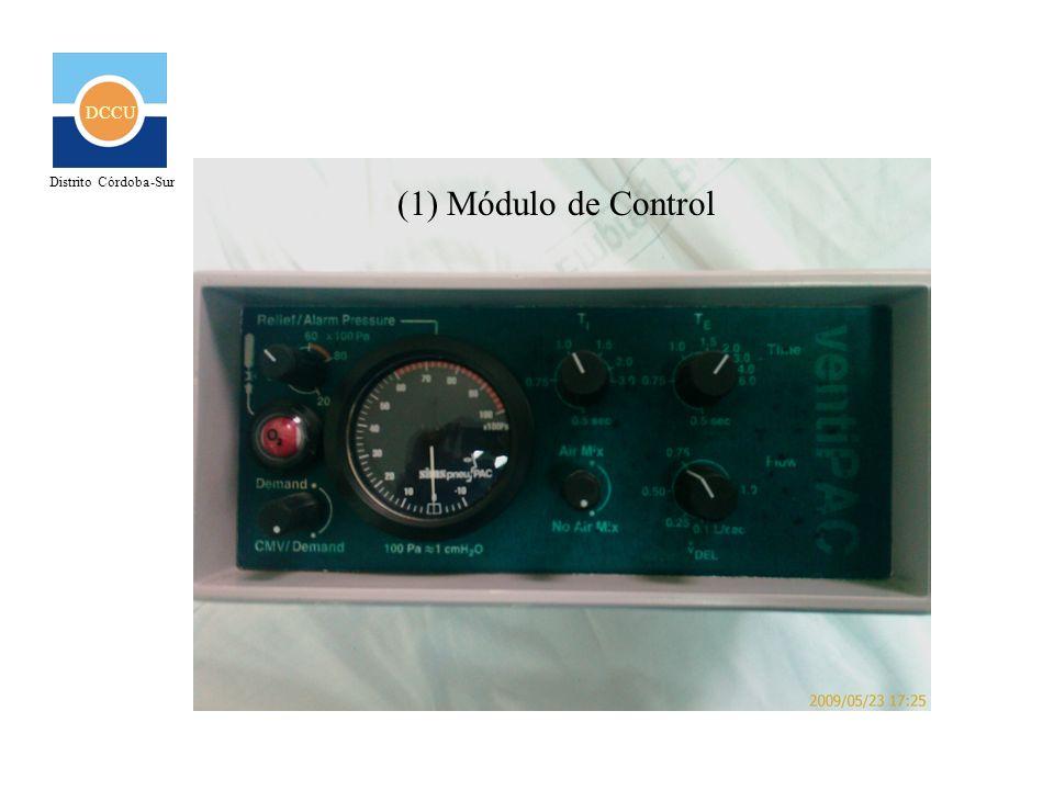 DCCU Distrito Córdoba-Sur (1) Módulo de Control