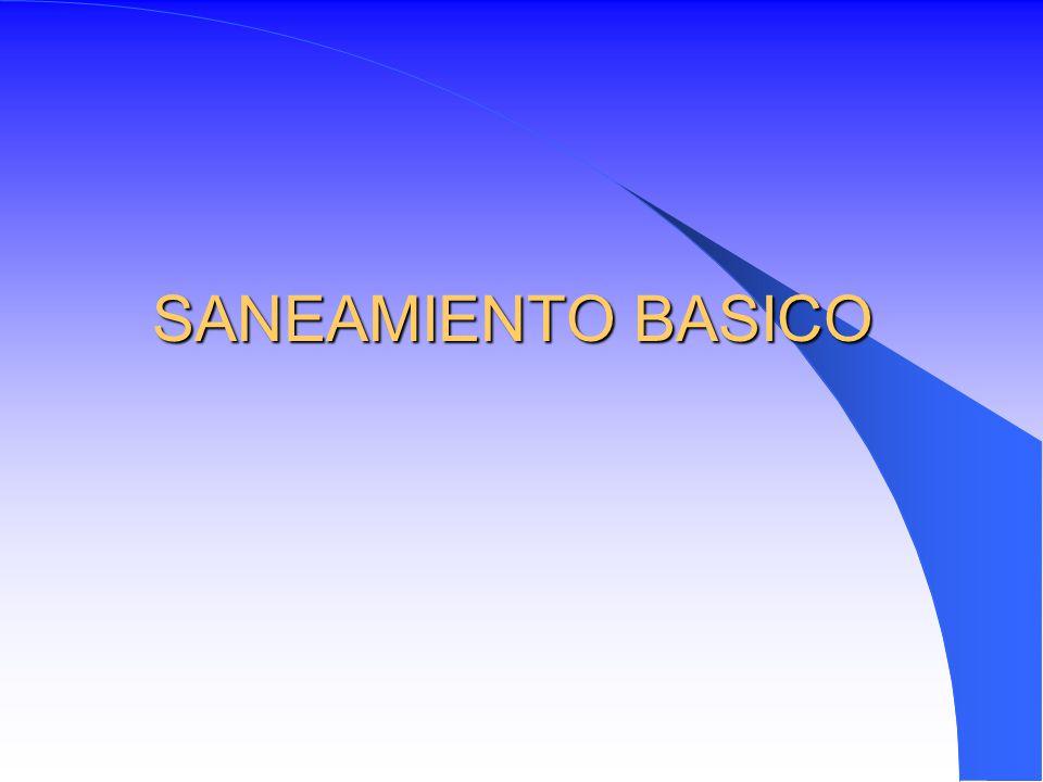 SANEAMIENTO BASICO