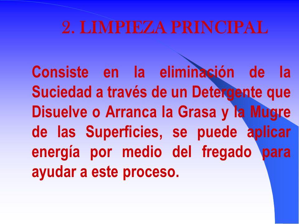 2. LIMPIEZA PRINCIPAL