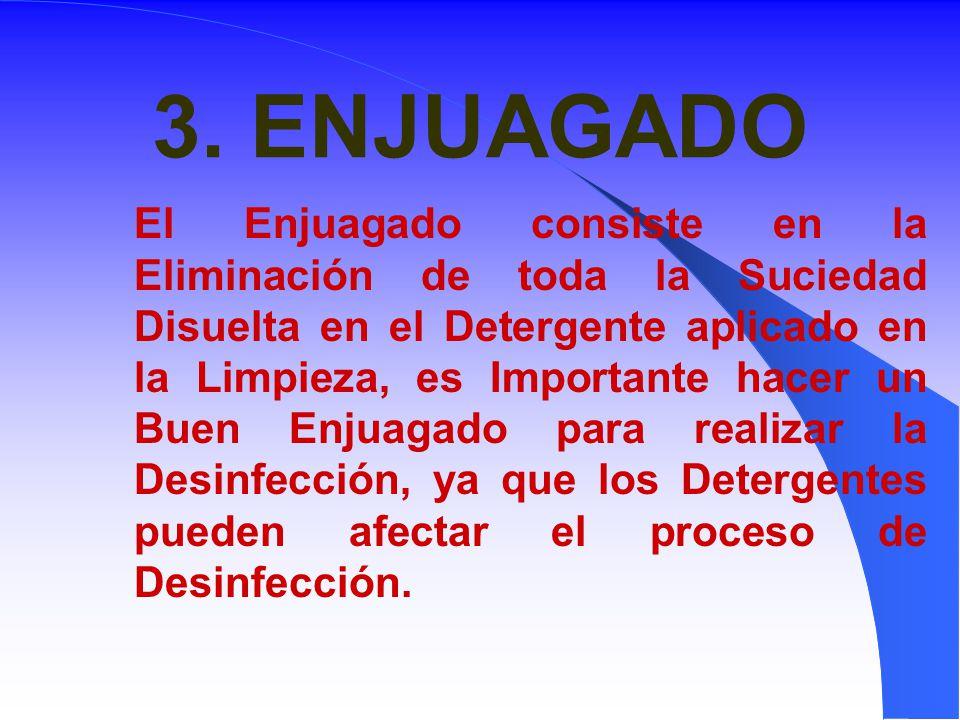 3. ENJUAGADO