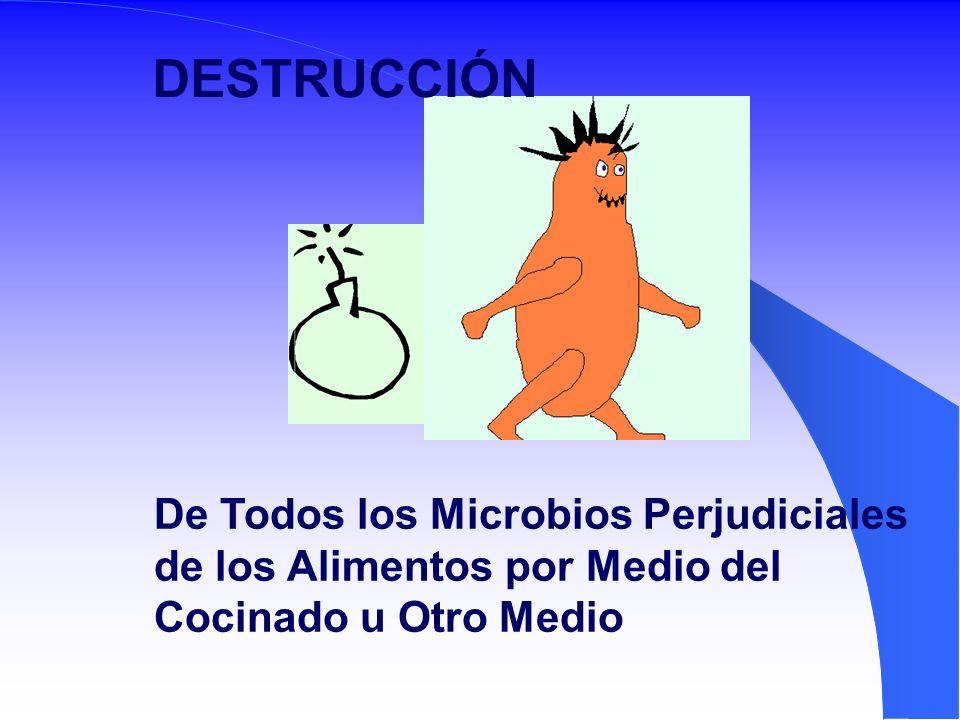 DESTRUCCIÓN De Todos los Microbios Perjudiciales