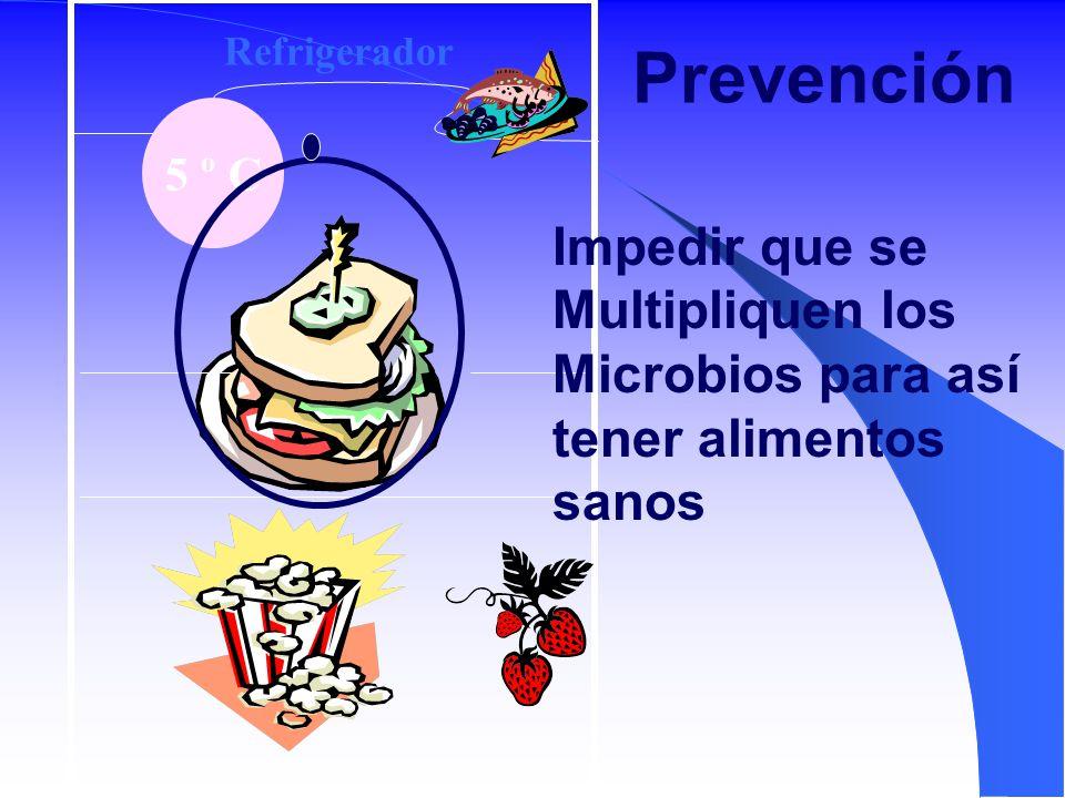 Prevención Impedir que se Multipliquen los Microbios para así
