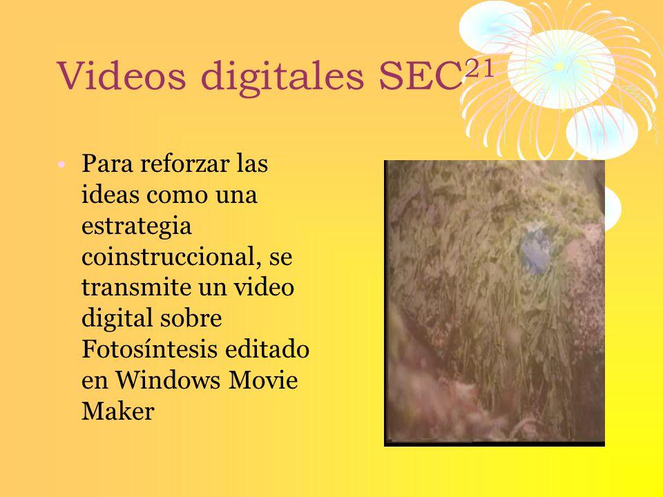 Videos digitales SEC21
