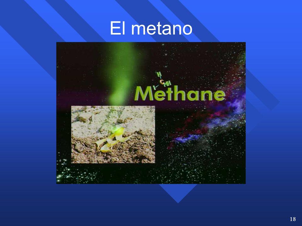 El metano