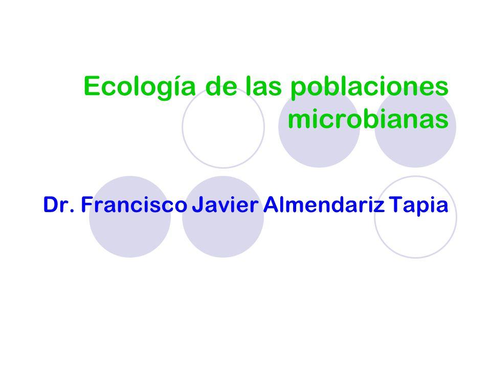 Ecología de las poblaciones microbianas