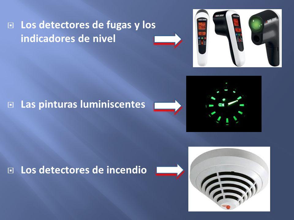 Los detectores de fugas y los indicadores de nivel