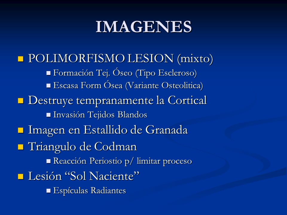 IMAGENES POLIMORFISMO LESION (mixto)
