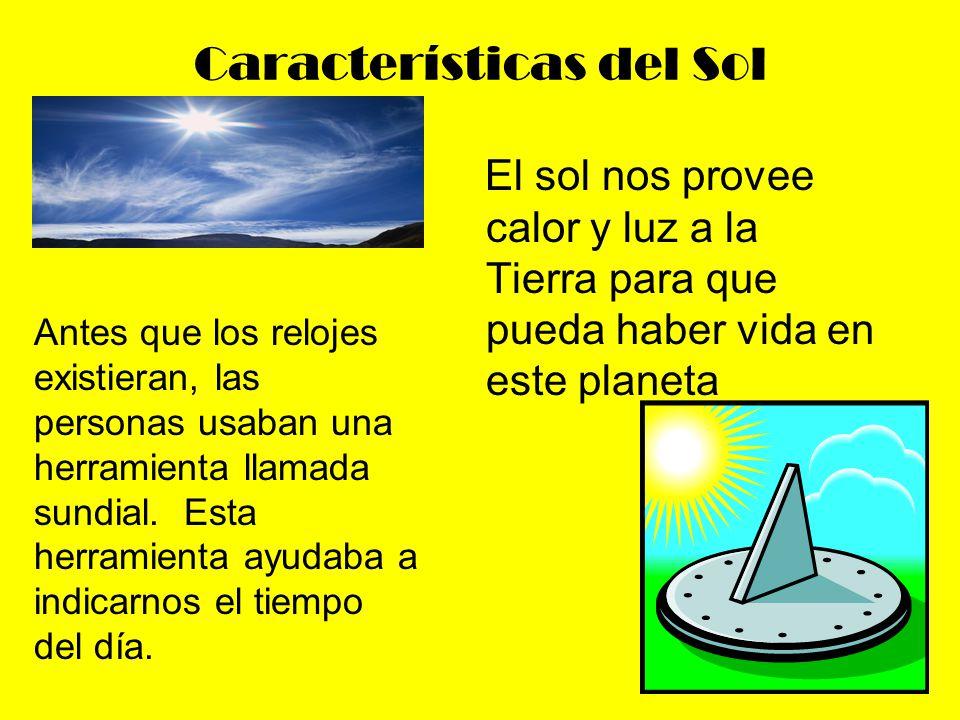 Características del Sol