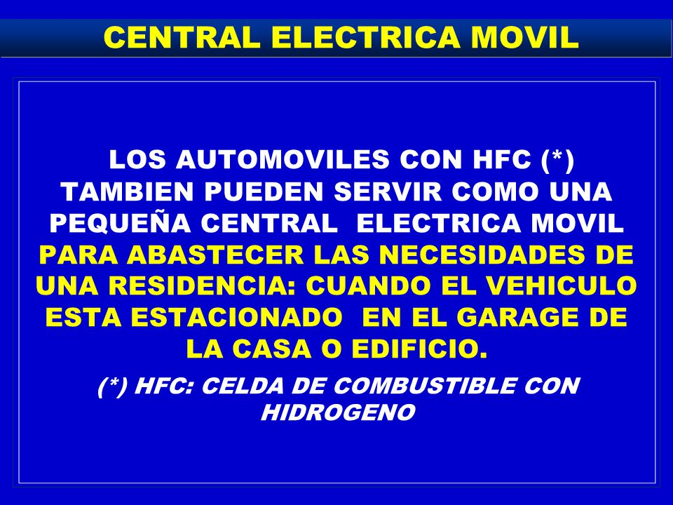 CENTRAL ELECTRICA MOVIL