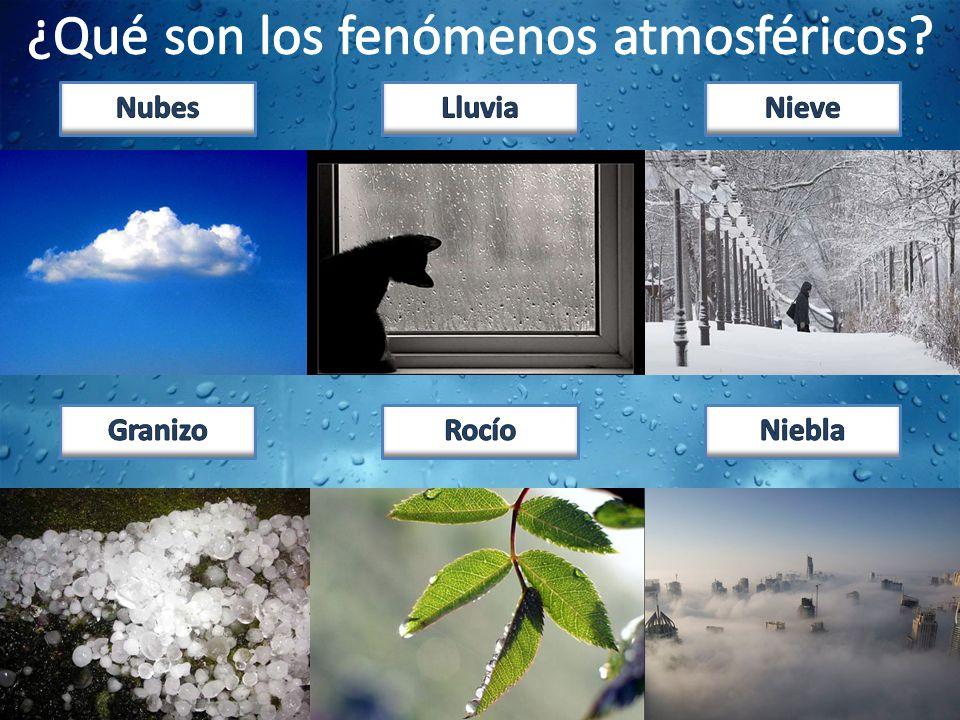 ¿Qué son los fenómenos atmosféricos