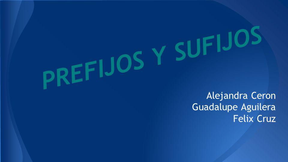 Alejandra Ceron Guadalupe Aguilera Felix Cruz