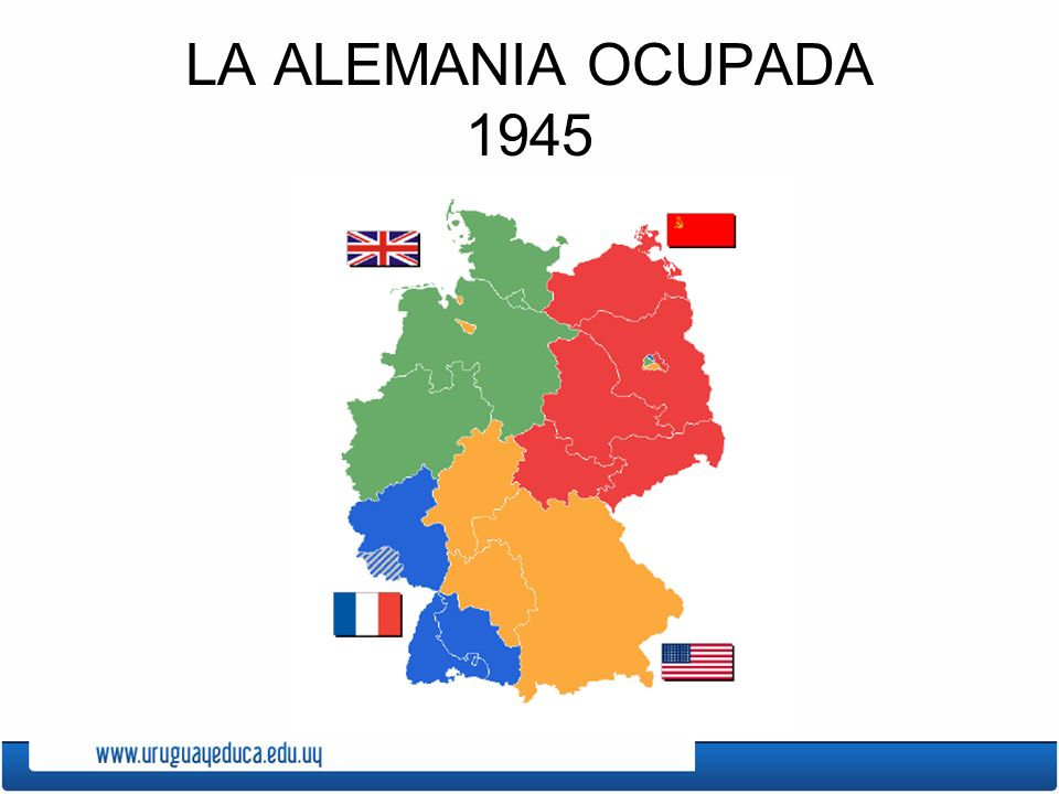LA ALEMANIA OCUPADA 1945
