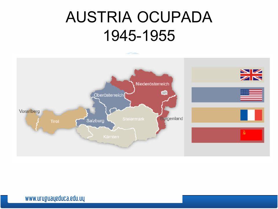 AUSTRIA OCUPADA 1945-1955