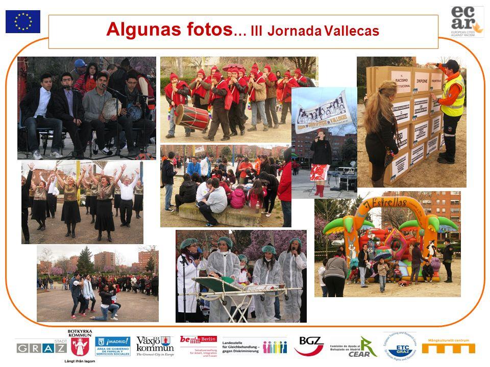 Algunas fotos… III Jornada Vallecas