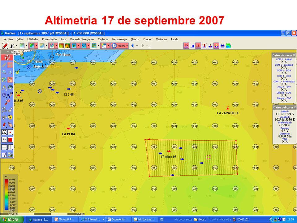 Altimetria 17 de septiembre 2007