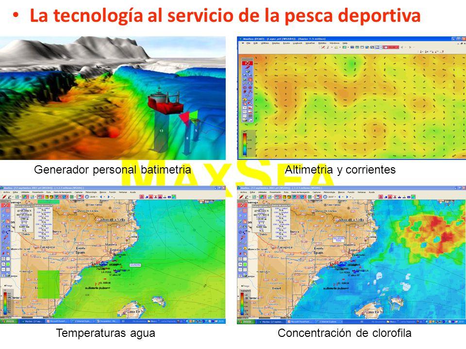 MAXSEA La tecnología al servicio de la pesca deportiva